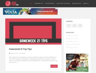 fantasypremierleague.tips screenshot