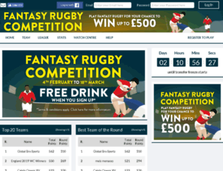 fantasyseasonticket.co.uk screenshot