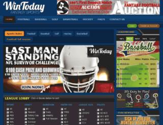 fantasysports4u.com screenshot
