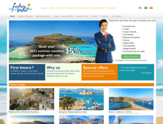 fantasytravelofgreece.com screenshot