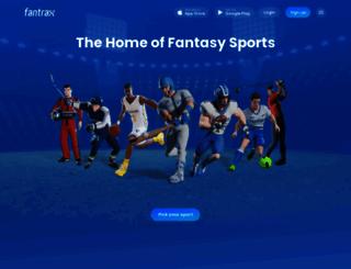 fantrax.com screenshot