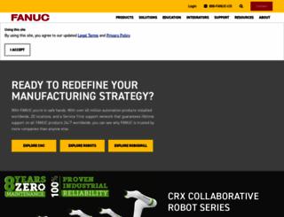 fanucamerica.com screenshot