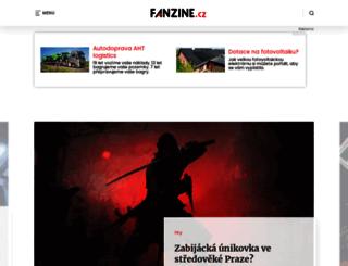 fanzine.topzine.cz screenshot