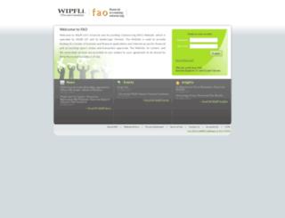 fao.wipfli.com screenshot