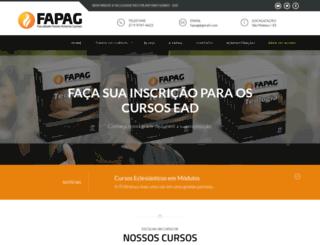 fapag.com.br screenshot