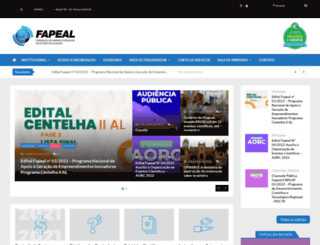 fapeal.br screenshot