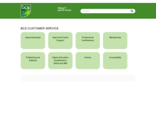 faq.bcs.org screenshot