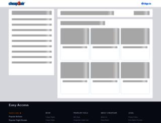 faq.cheapoair.com screenshot
