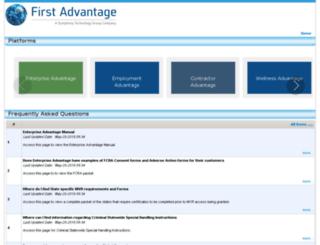 faq.fadv.com screenshot
