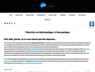 faq.jalis.fr screenshot