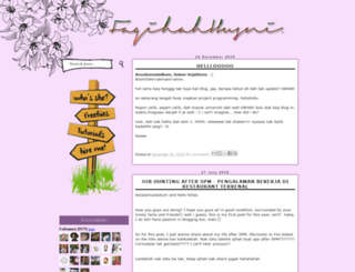 faqihahhusni.blogspot.com screenshot