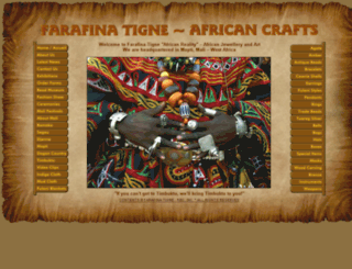 farafina-tigne.com screenshot
