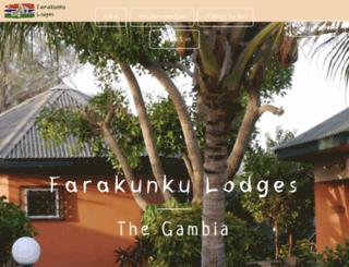 farakunku-lodges.com screenshot