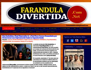 faranduladivertida.blogspot.com screenshot