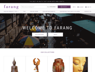 farangshop.co.uk screenshot