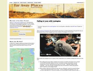 farawayplaces.com screenshot