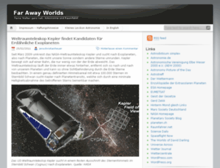 farawayworlds.wordpress.com screenshot