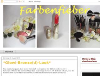 farbenfieber.blogspot.com screenshot