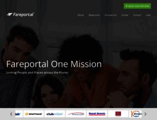 fareportal.com screenshot