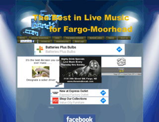 fargobands.com screenshot