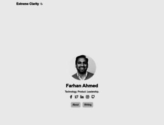 farhan.org screenshot