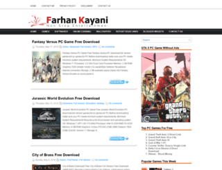 farhankayani.com screenshot
