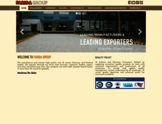 farida.co.in screenshot
