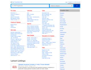 faridabad.themirch.com screenshot