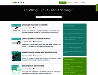faridsoft22.blogspot.com screenshot