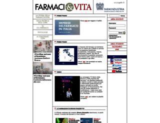 farmaci-e-vita.it screenshot