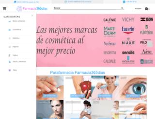 farmacia365dias.es screenshot