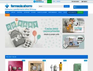 farmaciaahorro.com screenshot