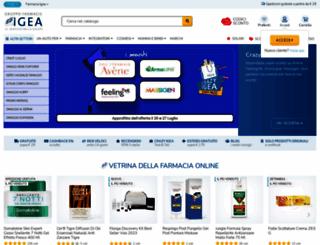 farmaciaigea.com screenshot