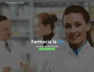 farmacialafe.axesadigital.com screenshot