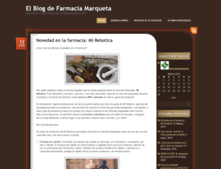 farmaciamarqueta.wordpress.com screenshot