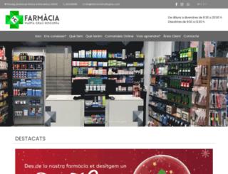 farmaciamartagrau.com screenshot