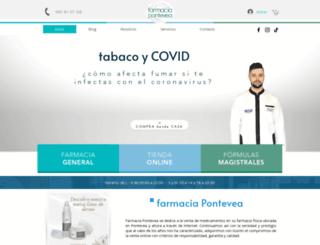 farmaciapontevea.com screenshot