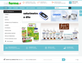 farmaciaranzanici.it screenshot
