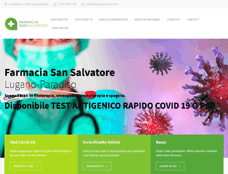 farmaciasansalvatore.ch screenshot