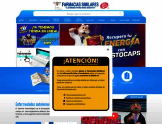 farmaciasdesimilares.com.mx screenshot