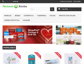 farmaciatocha.com screenshot