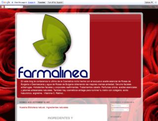 farmalinea.blogspot.com screenshot