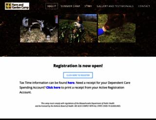farmandgardencamp.org screenshot