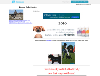 farmapobezovice.wbs.cz screenshot