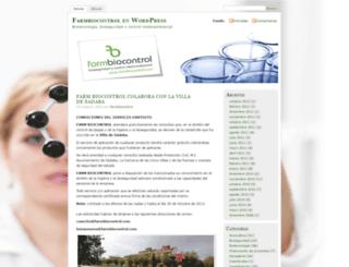 farmbiocontrol.wordpress.com screenshot
