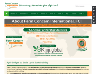 farmconcern.org screenshot