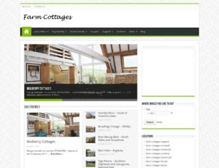 farmcottages.org.uk screenshot