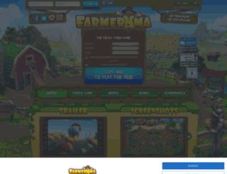 farmerama.bigpoint.com screenshot