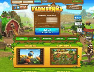 farmerama.es screenshot