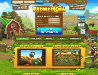 farmerama.fr screenshot